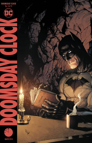 DOOMSDAY CLOCK #3 A (OF 12) DC Print Gary Frank
