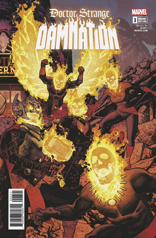 DOCTOR STRANGE DAMNATION #3 (OF 4) Marvel Legacy Greg Smallwood Connecting Variant (03/21/2018)