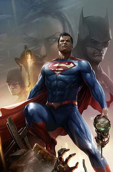 JUSTICE LEAGUE OF AMERICA #28 B Francesco Mattina Variant (04/11/2018)