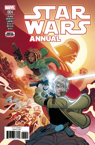 STAR WARS ANNUAL #4  Kieron Gillen Ashley Witter (05/23/2018)
