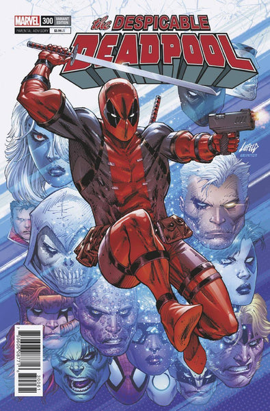 Despicable Deadpool 300 Marvel 1:100 Rob Liefeld Variant (05/09/2018)
