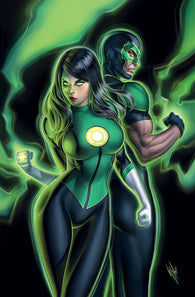 GREEN LANTERNS #49 B Warren Louw Variant (06/20/2018)