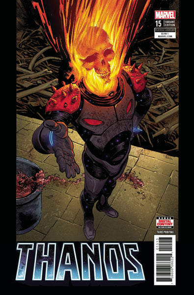 Thanos 15 Marvel 2018 NM 3rd Print Geoff Shaw Cosmic Ghost Rider Variant (04/04/2018)