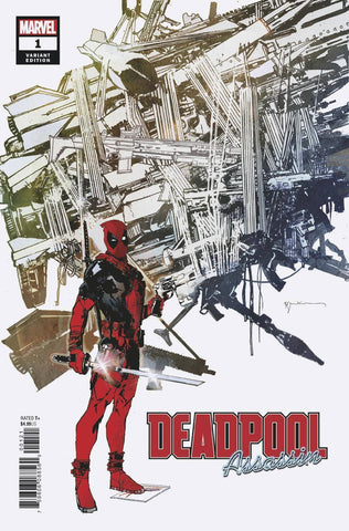 DEADPOOL ASSASSIN #1 (OF 6) Bill Sienkiewicz Variant (06/13/2018)