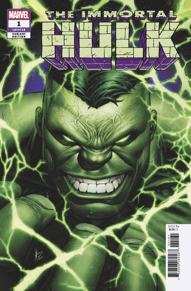 Immortal Hulk 1 Marvel 1:50 Dale Keown Variant (06/06/2018)
