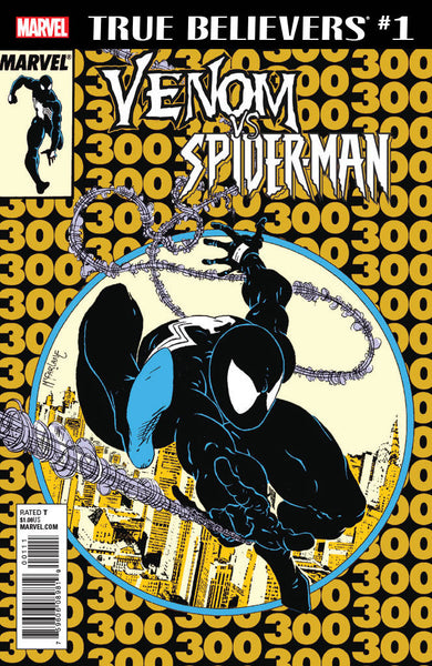 TRUE BELIEVERS VENOM VS SPIDER-MAN #1 Amazing Spider-Man 300 2nd Print Variant (04/18/2018)