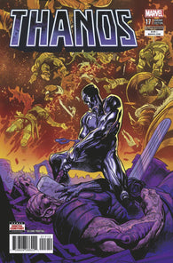 Thanos 17 Marvel Legacy Geoff Shaw 2nd Print Variant Silver Surfer Cosmic Ghost Rider (04/25/2018)