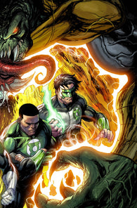 HAL JORDAN AND THE GREEN LANTERN CORPS #49 B Tyler Kirkham Variant (07/25/2018)
