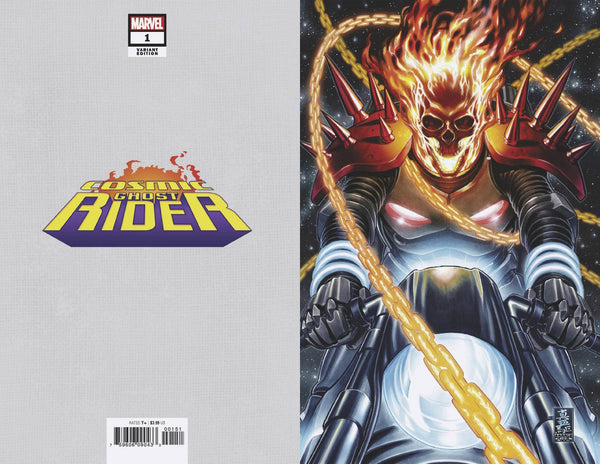 Cosmic Ghost Rider 1 Marvel 1:100 Mark Brooks Virgin Variant Thanos (07/04/2018)