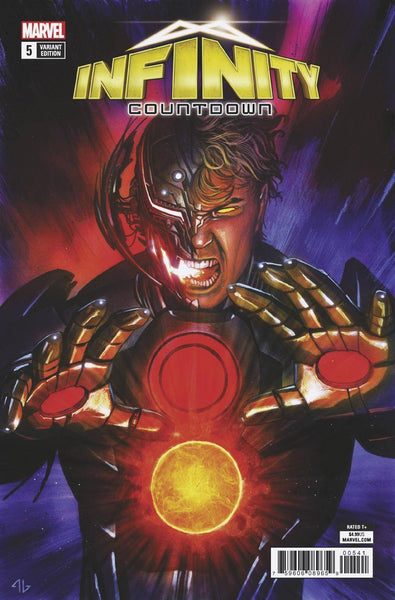 INFINITY COUNTDOWN #5 (OF 5) Adi Granov Ultra Holds Stone Variant (07/18/2018)