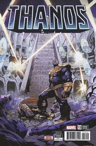 Thanos 13 Marvel 2018 Geoff Shaw 4th Print Variant (04/25/2018)