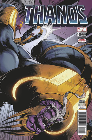 Thanos 14 Marvel Legacy 2018 4th Print Geoff Shaw Cates (04/25/2018)