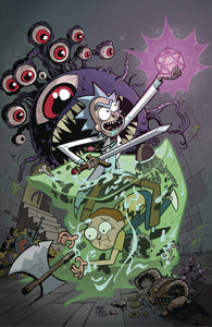 RICK & MORTY VS DUNGEONS & DRAGONS #1 (OF 4) IDW Troy Little (C (08/29/2018)