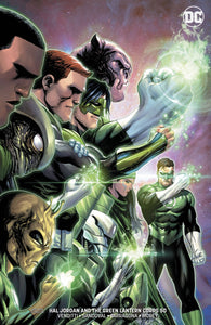 HAL JORDAN AND THE GREEN LANTERN CORPS #50 B Tyler Kirkham Variant (08/08/2018)