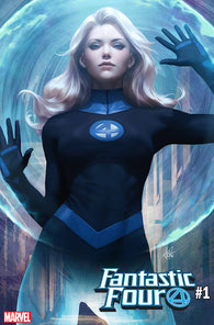 Fantastic Four 1 Marvel Stanley Lau Artgerm Invisible Woman Variant (08/08/2018)