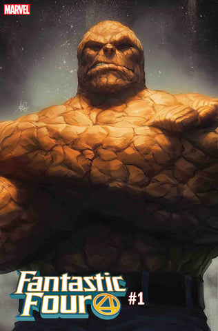 Fantastic Four 1 Marvel Stanley Lau Artgerm Thing Variant (08/08/2018)