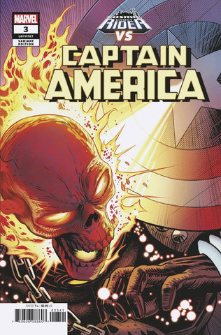 CAPTAIN AMERICA #3 Marvel Patrick Zircher Cosmic Ghost Rider Variant (09/05/2018)