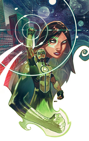 GREEN LANTERNS #54 DC B Chris Stevens Variant (09/05/2018)