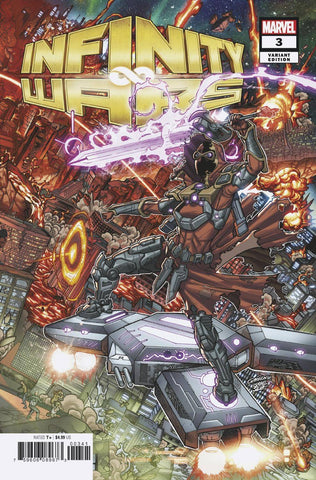 INFINITY WARS #3 (OF 6) Marvel Javi Garron Connecting Variant Gerry Duggan (09/12/2018)