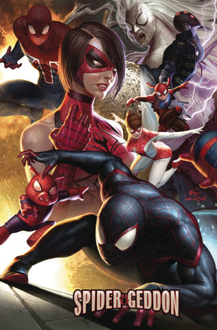 SPIDERGEDDON #0 Marvel In-Hyuk Lee Connecting Variant (09/26/2018)