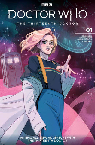 DOCTOR WHO 13TH #1 Titan Babs Tarr (11/07/2018)