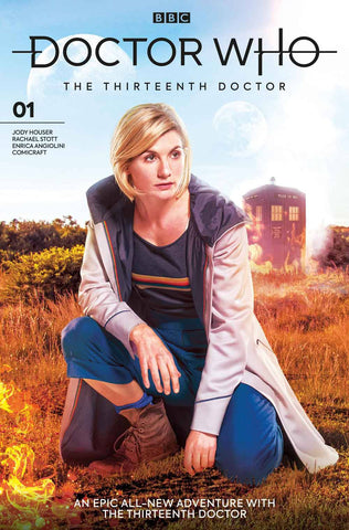 DOCTOR WHO 13TH #1 Titan Photo Variant (11/07/2018)