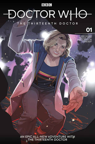 DOCTOR WHO 13TH #1 Titan Rachael Slott Variant (11/07/2018)