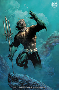 JUSTICE LEAGUE #10 B DC Jim Lee Variant Aquaman (DROWNED EARTH) (10/17/2018)