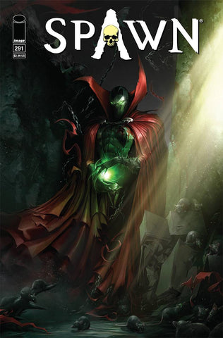 SPAWN #291 A Francesco Mattina Todd McFarlane (10/31/2018)