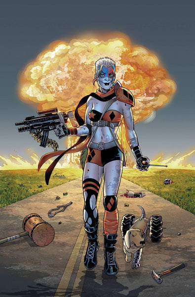 OLD LADY HARLEY #1 B (OF 5) DC Amanda Conner Mad Max Homage Variant (10/24/2018)