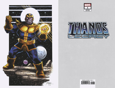 Thanos Legacy 1 Marvel 1:100 George Perez Variant Infinity Wars Donny Cates (09/05/2018)