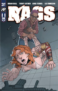 Rags #3 A Antarctic Press Luigi Teruel Zombies (11/28/2018)