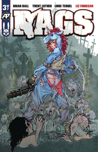 Rags #3 B Antarctic Press Luigi Teruel Exposed Variant Unicorn (11/28/2018)
