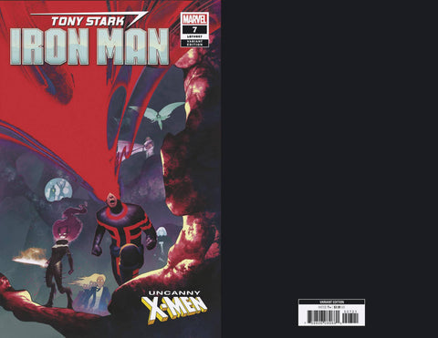 TONY STARK IRON MAN #7 B Marvel Uncanny X-Men Variant (12/19/2018)