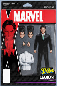 UNCANNY X-MEN #3 B Marvel John Tyler Christopher Action Figure Variant Legion (11/28/2018)