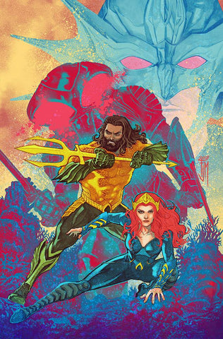 Justice League Aquaman Drowned Earth 1 B DC Francis Manapul Variant (10/31/2018)
