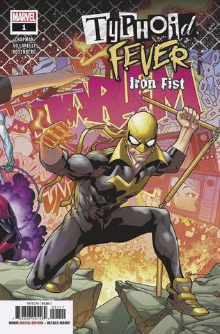 TYPHOID FEVER IRON FIST #1 A Marvel RB Silva (12/12/2018)
