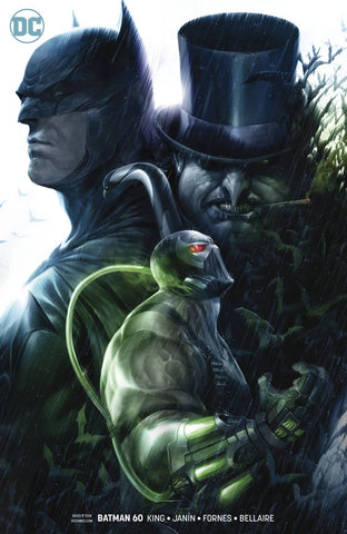 BATMAN #60 B DC Francesco Mattina Variant Bane Penguin Tom King (12/05/2018)