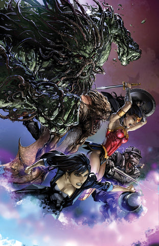 JUSTICE LEAGUE DARK #6 B DC Clayton Crain Variant (12/12/2018)