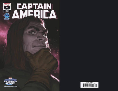 CAPTAIN AMERICA #6 B Marvel Marko Djurdjevic Fantastic Four Villains Variant (12/19/2018)