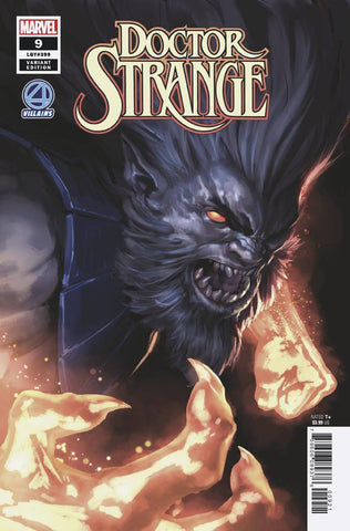DOCTOR STRANGE #9 B Marvel Marko Djurdjevic Fantastic Four Villains Variant (12/05/2018)