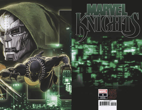 MARVEL KNIGHTS 20TH #4 (OF 6) B Marvel Kaare Andrews Connecting Variant (12/19/2018)
