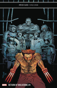 RETURN OF WOLVERINE #4 (OF 5) B Marvel Declan Shalvey Variant (01/16/2018)