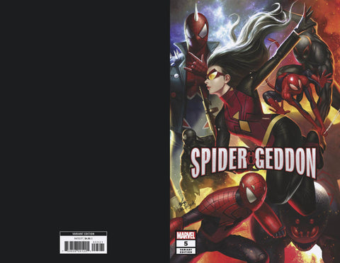 SPIDER-GEDDON #5 (OF 5) B Marvel In-Hyuk Lee Connecting Variant (12/19/2018)
