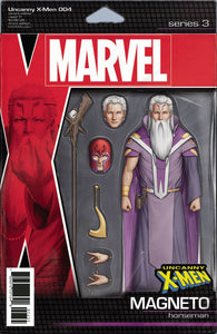 UNCANNY X-MEN #4 B Marvel John Tyler Christopher Action Figure Variant (12/05/2018)