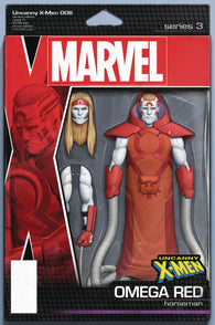 UNCANNY X-MEN #6 B Marvel John Tyler Christopher Action Figure Variant (12/19/2018)