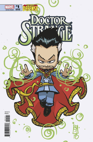 DEFENDERS DOCTOR STRANGE #1 B Marvel Skottie Young Variant Gerry Duggan (12/12/2018)