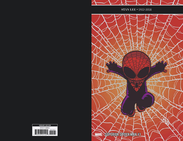 SUPERIOR SPIDER-MAN #1 Marvel Skottie Young Variant Christos Gage (12/26/2018)