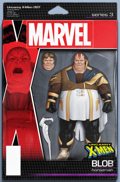 UNCANNY X-MEN #7 B Marvel John Tyler Christopher Action Figure Variant (12/26/2018)