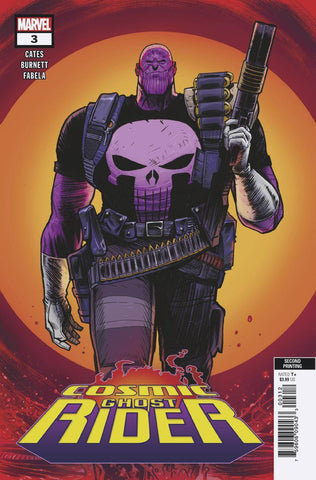 COSMIC GHOST RIDER #3 (OF 5) Marvel 2nd Print Geoff Shaw Variant Thanos Punisher Donny Cates (10/10/2018)